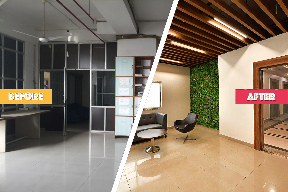Complete office transformation