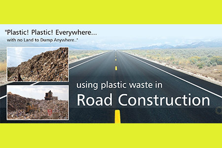 reuse of plastic waste in road Plastic recycling is the process of recovering scrap  two-lane road the process chops thin-film road-waste into a light fluff of tiny flakes  reuse of bottles.