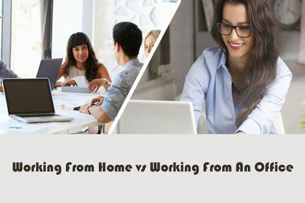 Why is office environment important even though WFH is successful?