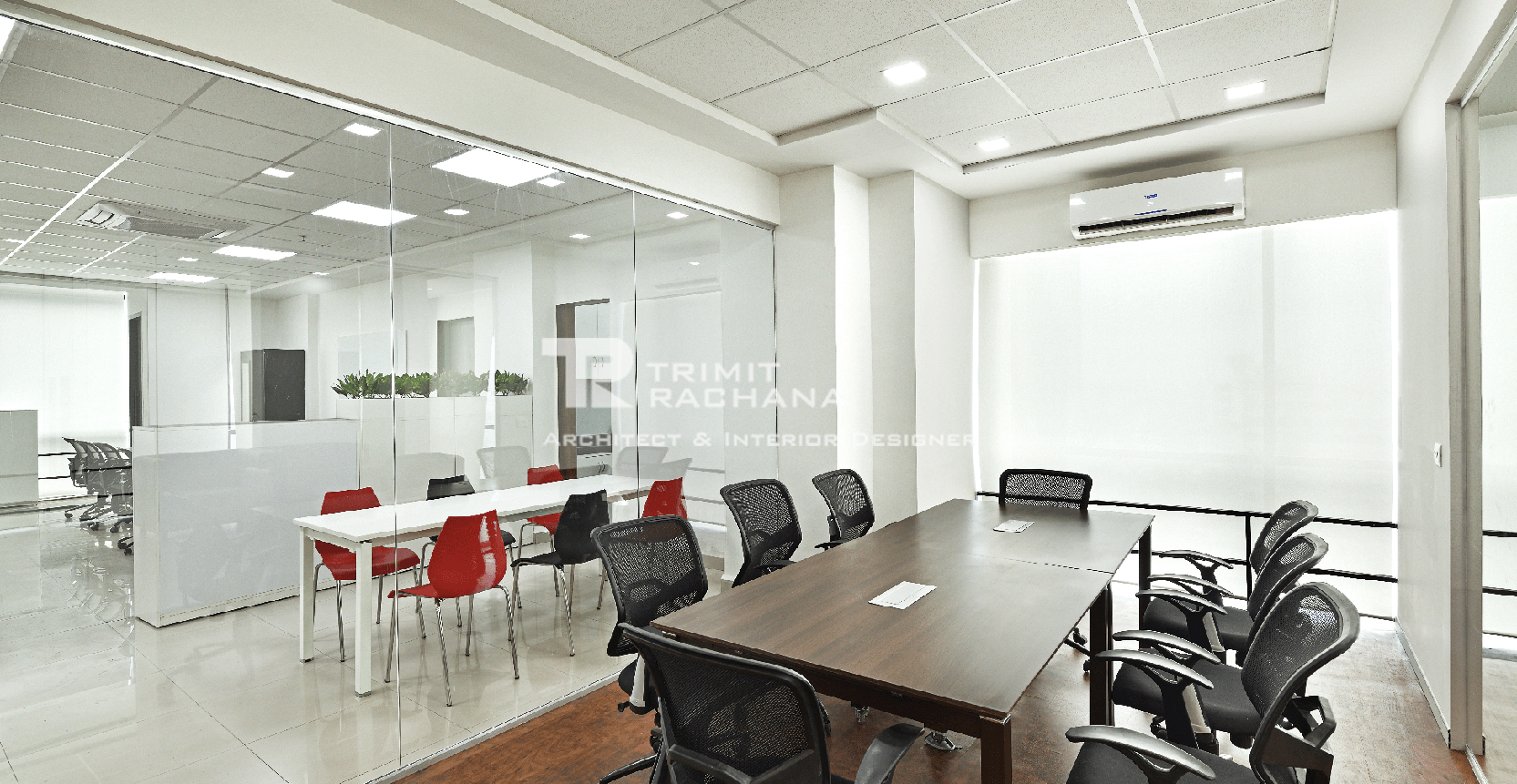 Bridgestone's corporate office Conference Room designed by Trimit Rachana