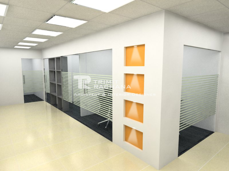 Bridgestone's corporate office Conference Room designed by Trimit Rachana