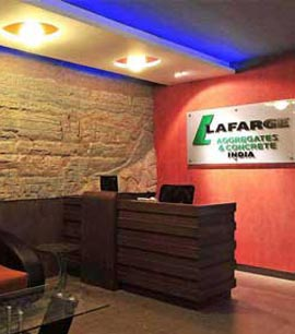 Reception, M.D. Cabin, Meeting Room, Conference Room of Lafarge India